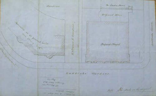 1861planforchapel