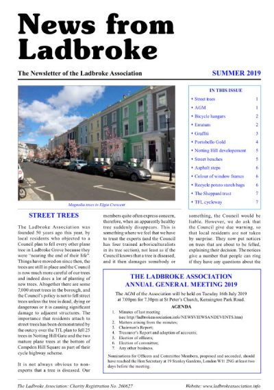 Labroke newsletter 2019 screenshot