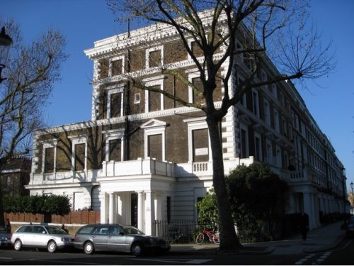 The now Allason House in 2008