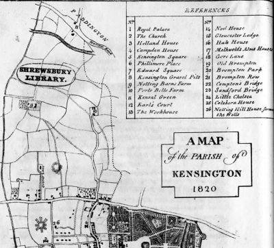 maps1820parishofkensingtonfromfaulkner